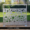 ARTEFACT perforated sheet metal by Dampere