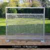 MOSAIQUE ERGOT perforated sheet metal by Dampere