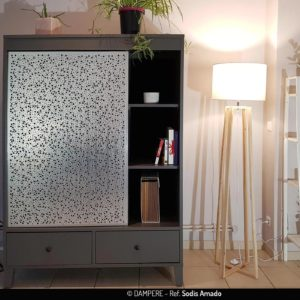 SODIS AMADO perforated sheet metal by Dampere