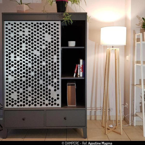 AGOSTINE MAGMA perforated sheet metal by Dampere