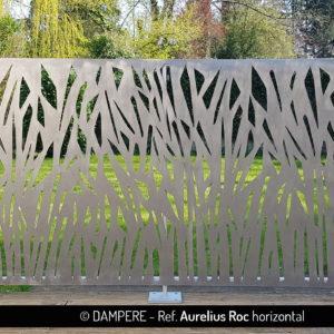 Tole decorative en decoupe laser AURELIUS ROC par Dampere