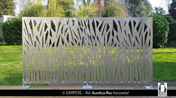 AURELIUS ROC laser cut decorative sheet metal by Dampere