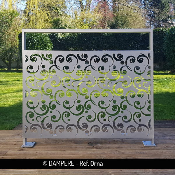 ORNA laser cut decorative sheet metal by Dampere