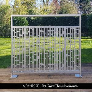 SAINT THAUX laser cut decorative sheet metal by Dampere