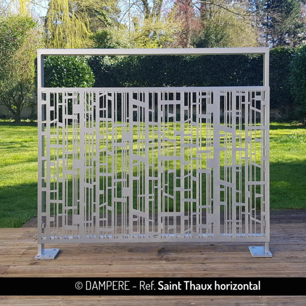 Tole decorative en decoupe laser SAINT THAUX par Dampere
