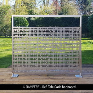 TOLE CADE perforated sheet metal by Dampere