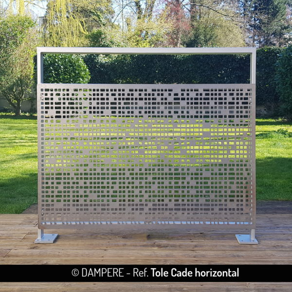 Tole perforee decorative TOLE CADE par Dampere