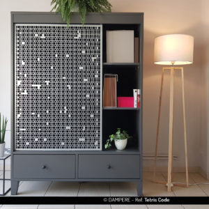 TETRIS COD perforated sheet metal by Dampere