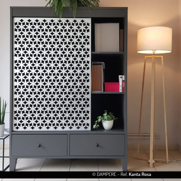 KANTA ROSA perforated sheet metal by Dampere